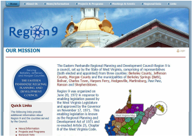 Client: Eastern Panhandle Regional Planning and Development Council-Region 9